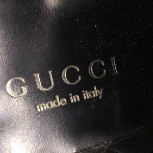 Gucci Black Sandals Size 7
